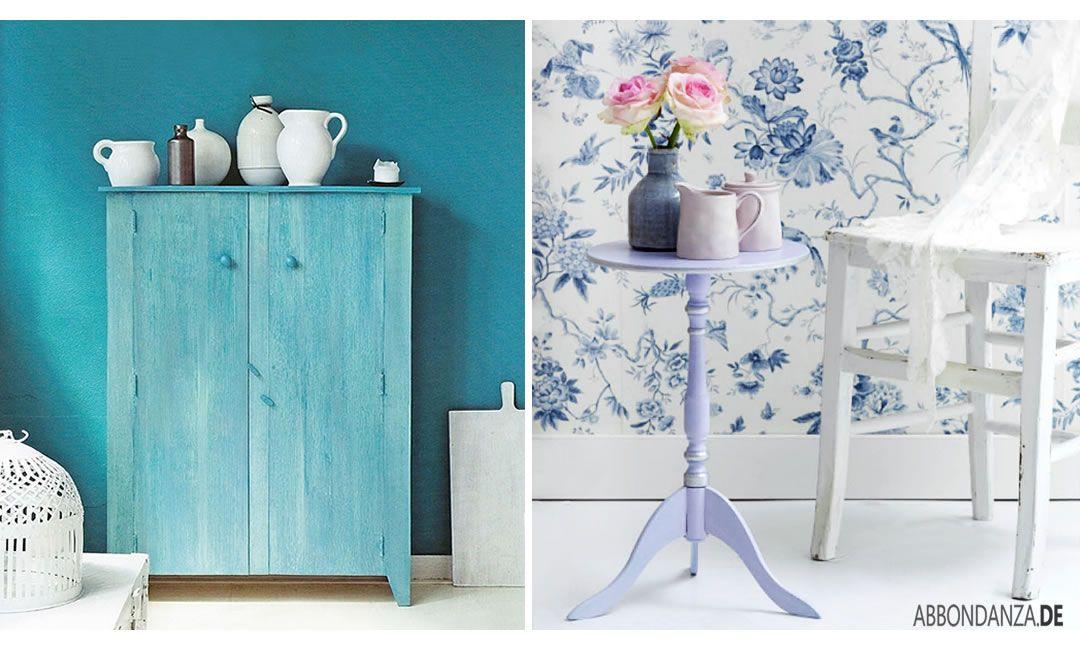 Möbel streichen mit Kreidefarbe