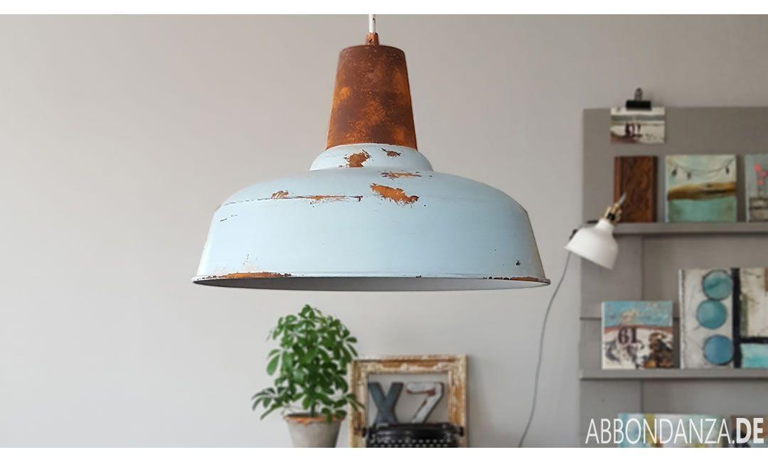 Lampe Vintage Style Rost Optik