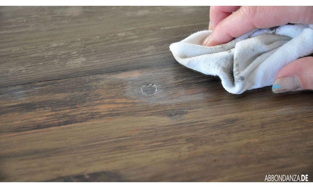 Greywash und Holz altern