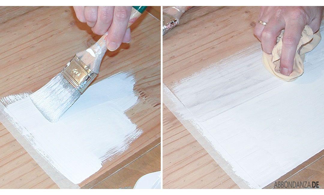 Kreidefarbe White Wash
